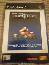 New listing International Cue Club: (Sony PlayStation 2, 2002)