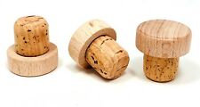 T-Top Tasting Bar Top Cork Stoppers 19mm Stopper Corks Brewing Wine Natural Wood