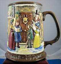 "Beswick Christmas Mug ""Carolers"" 1972"