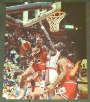 MICHAEL JORDAN CHICAGO BULLS NBA 8X10 COLOR PHOTO FROM ORIGINAL NEGATIVE