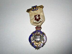 Silver Gilt Royal Masonic Institution for Girls 1930 Steward Jewel