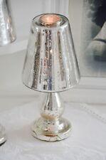 Teelichtlampe Kerzenlampe Kerzenleuchter Bauernsilber Leuchter Shabby Landhaus K