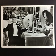 "8"" X 10""  LOBBY CARD ""Gigi"" 1958  B&W with  Maurice Chevalier Movie Promo"