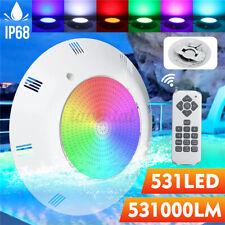 Unterwasser 531LED RGB Schwimmbad Lampe Poolbeleuchtung Schwimmbadleuchte Remote