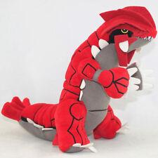 "Pokemon Center Plush Doll Toy Groudon 12"" Character Stuffed Animal US Ship"
