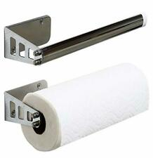 Mountable Paper Towel Roll Holder for Wall Cabinet Door Pantry Kitchen Sturdy A