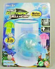 Water Toy Robo Jelly Fish Auto Swim Function Tub, Pool, Aquarium Toy Blue