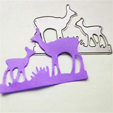 Deer Mother and Baby Metal Cutting Dies For Scrapbooking Card Craft DecorSC