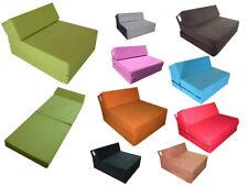 Colchón plegable de espuma cama invitados futon sillón 160 x 60 x 12 cm FDZ
