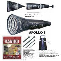 Aalreuse Krebsreuse fertig montiert Apollo I 1 + AnkertauExtraKabelbinder Haribo