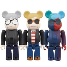 Medicom 100% Be@rbrick Bearbrick Andy Warhol Style Ver. Figure 1 set