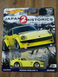 Scale 1:64-Hot Wheels Japan Historics 2-Nissan Fairlady Z. Great Condition. VHTF
