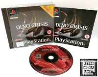 Dino Crisis ~ Sony PlayStation PS1 ~ PAL Game ~ Horror *Very Good Complete*
