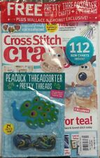 Cross Stitch Crazy UK June 2017 Peacock Threadsorter Threads FREE SHIPPING sb