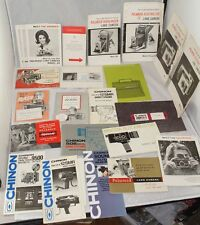 Vintage Camera Manuals Large Lot #6