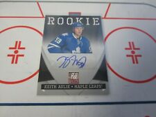 KEITH AULIE ZENITH DONRUSS ELITE AUTOGRAPH ROOKIE RC CARD /99 ONLY !!!