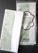 """QUALITY GIFT WRAPPING TISSUE PAPER EASTER BUNNIES 16 SHEETS 20"""" x 20"""" EACH SHEET"""