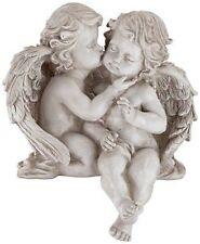 Cherub Garden Statue Angels Figurine Outdoor Sculpture Patio Porch Yard Lawn New