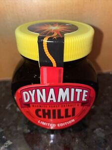 MARMITE DYNAMITE CHILLI 250g LIMITED EDITION Brand New & Sealed Free Postage