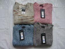 Bundle Of 4 Marks And Spencer Knitwear Beige Black Blue Pink Jumpers Size 8 BNWT