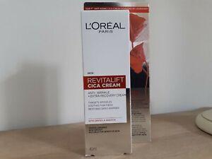 L'oreal New REVITALIFT Cica Cream anti-wrinkle + extra-recovery cream  40ml