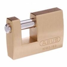 Abus Padlocks-High Security Monoblock Padlock-SHIPPING CONTAINER  82/63 -63mm-
