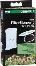 Dennerle Nano Filter Element 3 pack