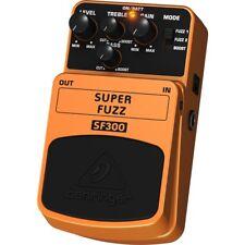 BEHRINGER SUPER FUZZ SF300 effetto classif fuzz rock a pedale x chitarra e basso