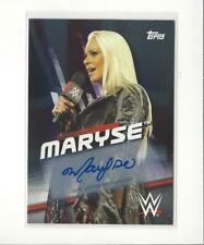 2016 Topps WWE Divas Revolution Silver #26 Maryse AUTOGRAPH /50