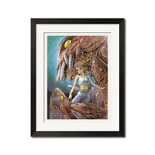 Hayao Miyazaki Nausicaa of the Valley of the Wind Watercolor Poster Print 0525