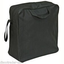 BAG FOR WHEELCHAIR WITH PRAM HANDLES in BLACK