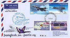 """A380-218T2 FFC THAILAND """"Airbus A380 Thai Airways 1st Flight Bangkok-Paris"""" 2013"""