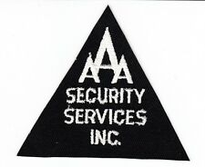 AAA SECURITY SERVICES PATCH
