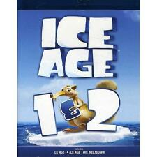 Ice Age 1 & 2 Blu-ray Double Feature DVD, ,