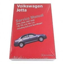Volkswagen VW Jetta GLS SportWagen 2005-2008 Service Repair Manual Bentley