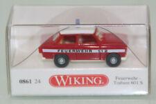 Wiking 1:87 H0 086124 Trabant 601 S Feuerwehr neuwertig in OVP (JS9302)