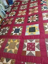 Gorgeous Pennsylvania Star Antique Quilt