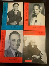 Genii Magazine, Complete Vol 9, 1944/45, 12 Issues