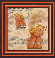 2002 MOZAMBIQUE -40° Aniversário Morte de Marilyn Monroe - bloco196 -MNH#4058