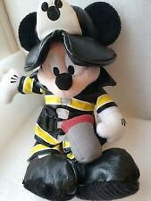 Walt Disney World Mickey Mouse Firefighter Plush. 10""