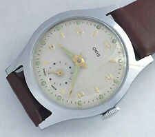 Jewels Swiss made Oris men's vintage watch great condition.