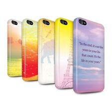 Housses et coques anti-chocs brillants Apple pour téléphone mobile et assistant personnel (PDA)
