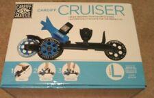 New Unused Cardiff Skate Co. Cruiser Skate, Blue, Large, Adjustable Rollerblade