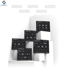 Complete Qianli 3D iPhone BGA Black Edition Stencils for iPhone 6 Plus 6S 7 8 X