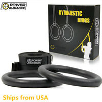 POWER GUIDANCE Gymnastic Ring ABS Olympic Gym Rings Body Strength Cross Training