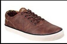 New Mens O'Neil Psycholow Lace up Casual Brown shoe size UK 7.5 £34.99 ono