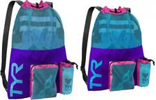 TYR LBMMB3-545 Big Mesh Mummy Backpack Purple/Blue, One Size
