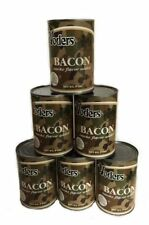 1/2 Case (6 Cans) Yoders Premium Canned Bacon , Free Shipping
