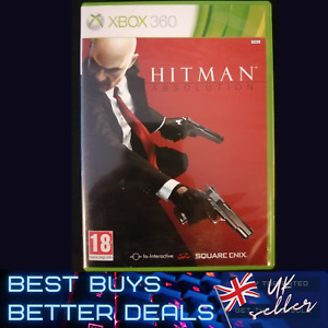 Hitman Absolution Xbox 360 Game TESTED PAL