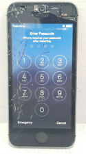 """Apple iPhone 5S 16GB 4G A1530 4"""" 8MP 1GB/SOLD AS IS/Crack screen/PIN LOCKED"""